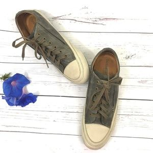 Bussola leather walking shoes tAupe sneakers